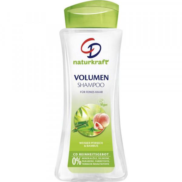 """Shampoo """"Volumen"""", weiße Pfirsich und Bambus"""