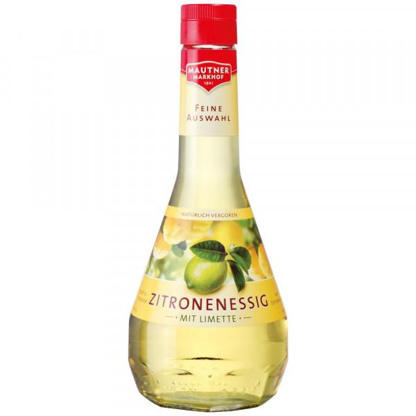 Zitronenessig, mit Limette