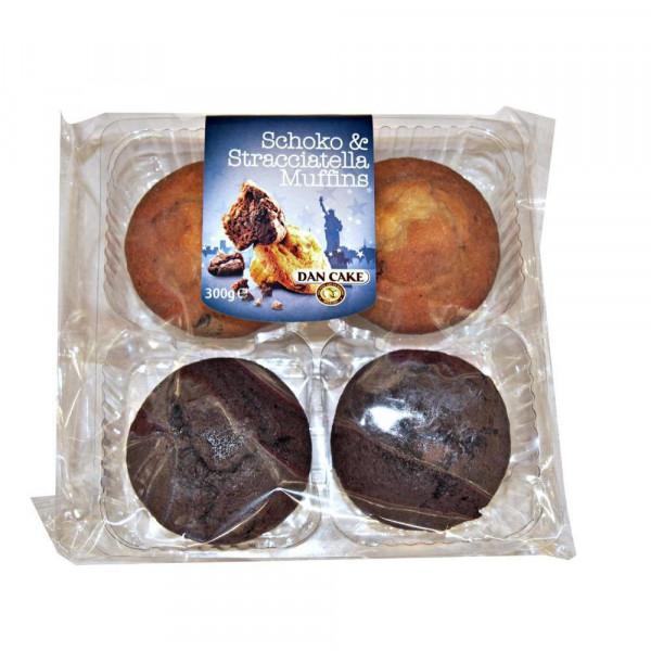 Muffins Schoko Stracciatella