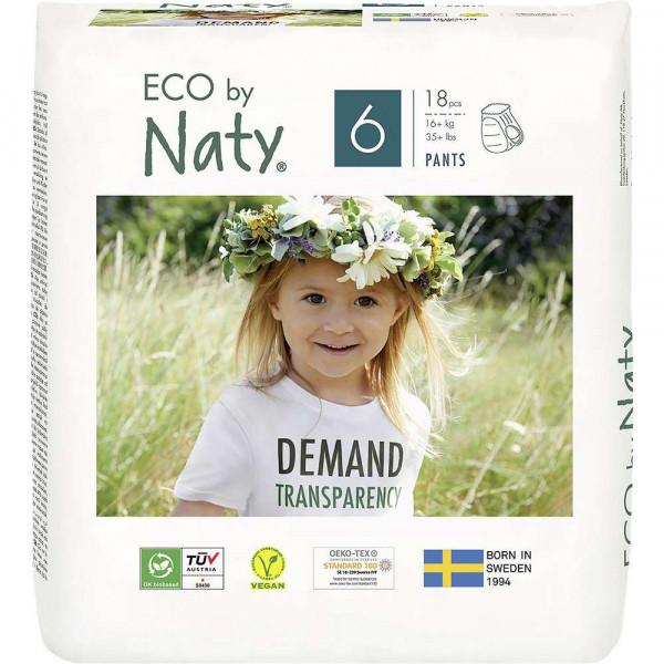 Eco Windeln 16+kg, Gr 6