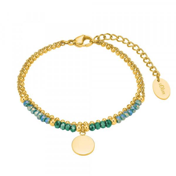 Damen Armband aus Edelstahl, vergoldet (2028479)