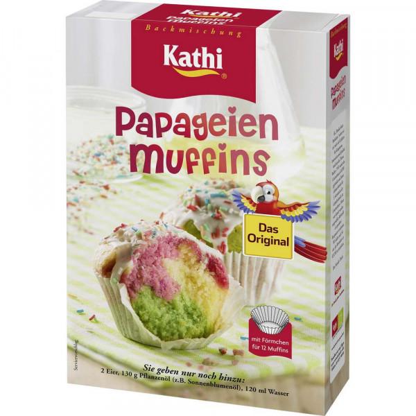 Backmischung, Papageienmuffins