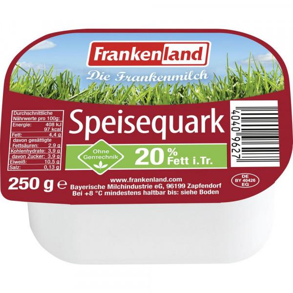 Speisequark, 20% Fett i. Tr.