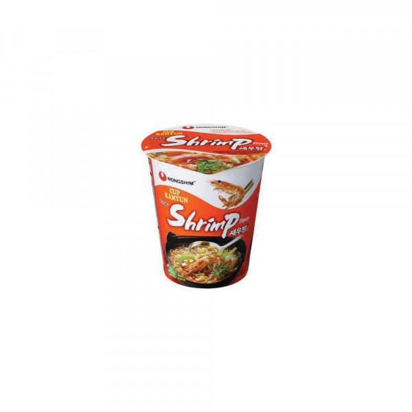"Instant-Cup-Nudeln, ""Shrimp"""