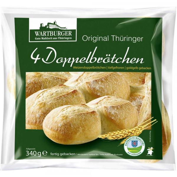 Thüringer Doppel-Weizenbrötchen, tiefgekühlt
