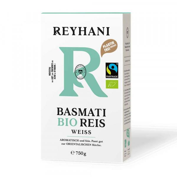 Bio Basmatireis, weiß