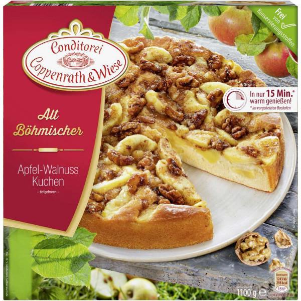 Altböhmische Kuchen, Walnuss, tiefgekühlt