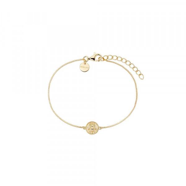 Damen Armband aus Silber 925, vergoldet (4056874026864)