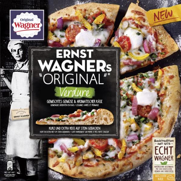 "Pizza ""Ernst Wagner's Original"" Verdure, tiefgekühlt"