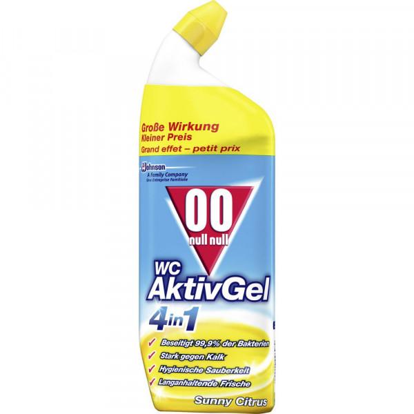WC Reiniger Aktiv Gel 4 in 1, Sunny Citrus