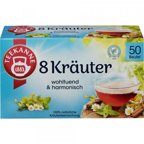 """Kräutertee """"Wohltuende 8 Kräuter"""""""