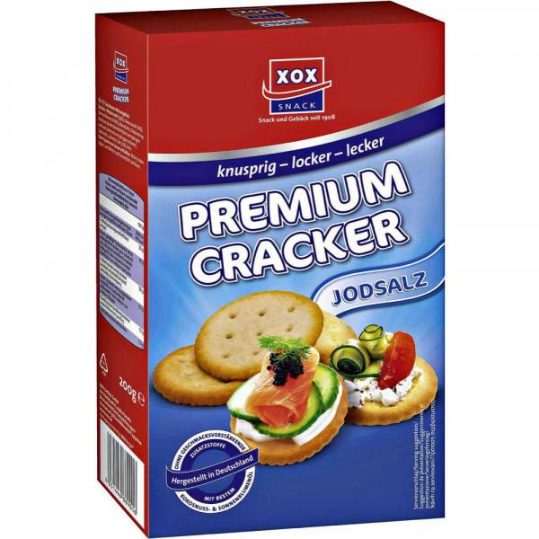 Cracker mit Jodsalz
