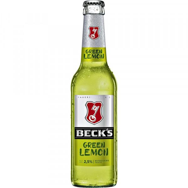 """Biermischgetränk """"Green Lemon"""" 2,5%(10 x 0.33 Liter)"""