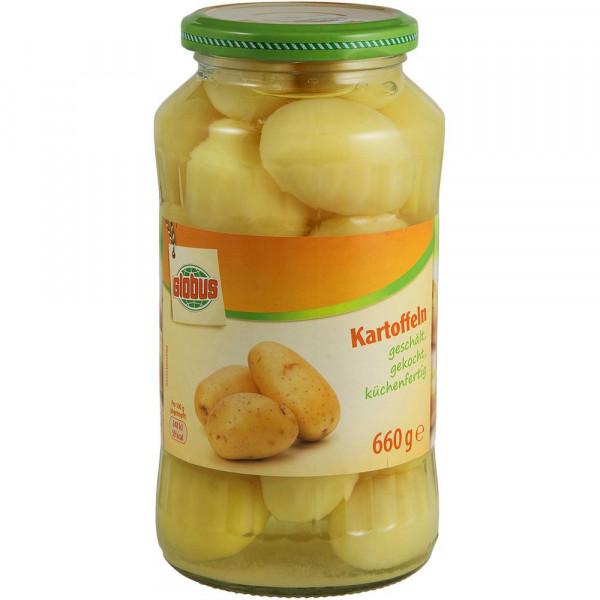 Kartoffeln ganz
