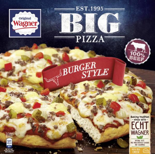 "Big Pizza ""Burger Style"", tiefgekühlt"