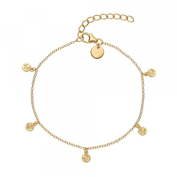 Damen Armband aus Silber 925, vergoldet (2030126)