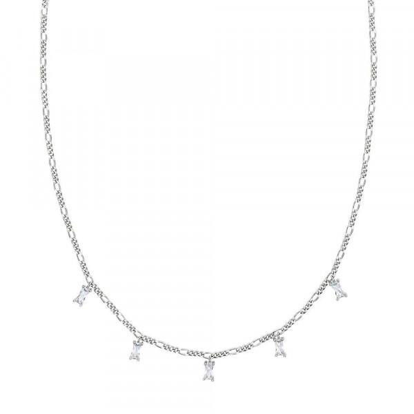 Damen Halskette mit Anhänger aus Silber 925 mit Zirkonia (4056874027038)