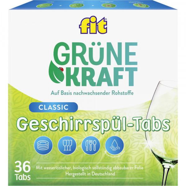 Spülmaschinen Tabs Classic, Grüne Kraft