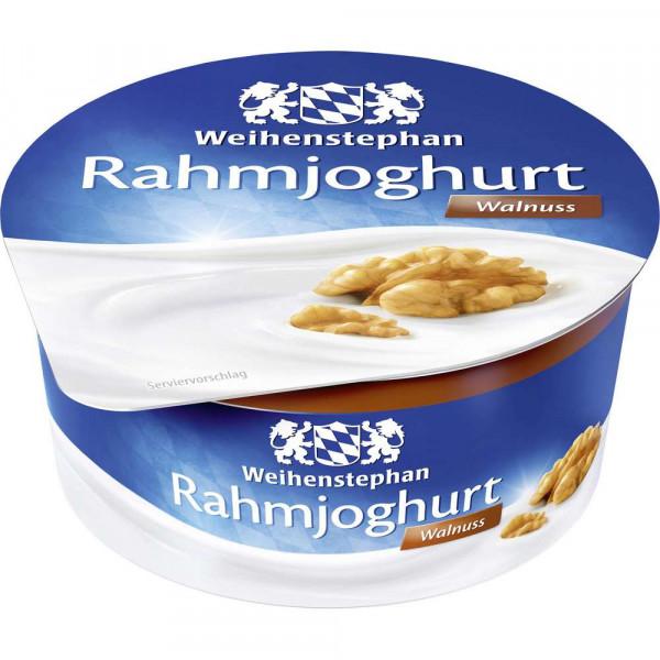 Rahmjoghurt, Walnuss