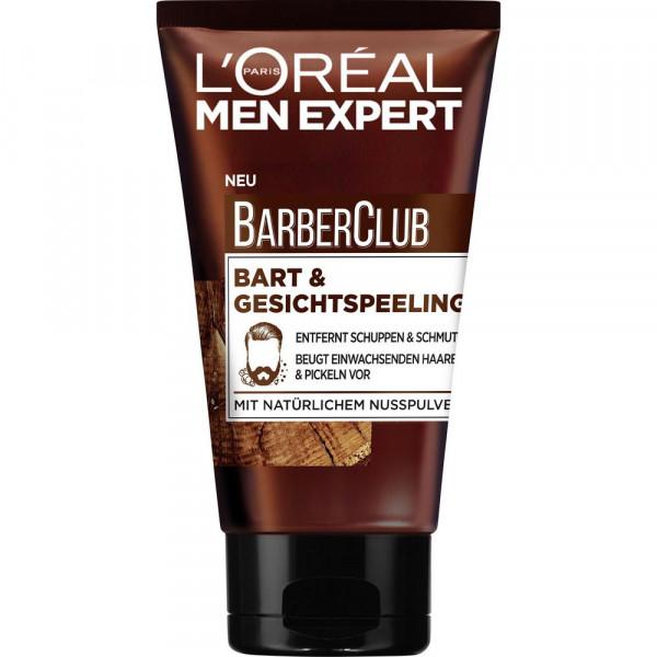 Men Expert Barber Club Bart & Gesichtspeeling