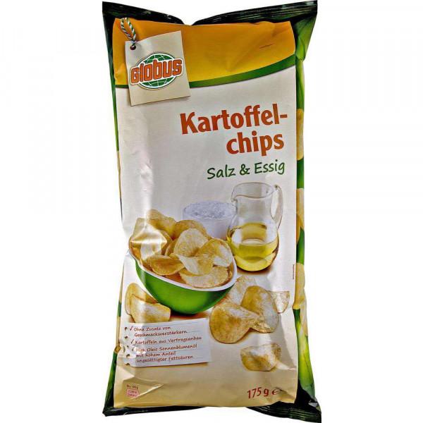 Kartoffelchips, Salz & Essig