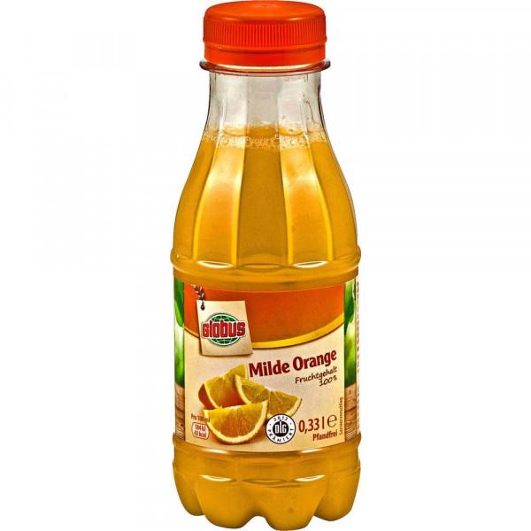 Milder Orangensaft
