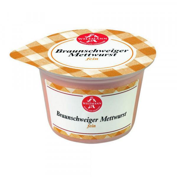 Braunschweiger Mettwurst, fein
