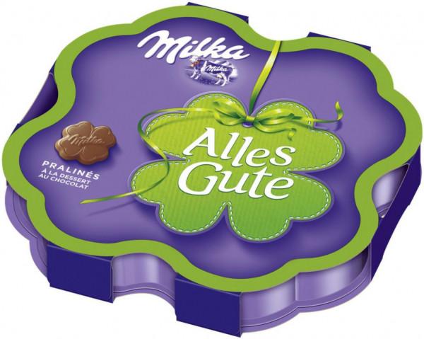 "Schoko Pralinen ""Alles Gute"", à la dessert au chocolat"