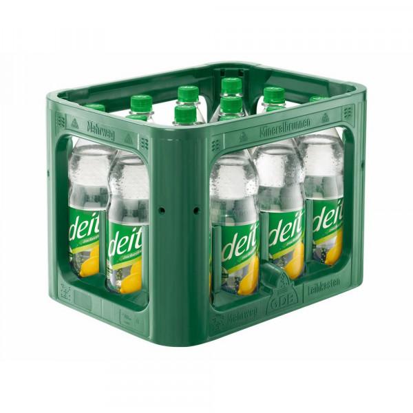 Zitronen Limonade, zuckerfrei (12 x 1 Liter)