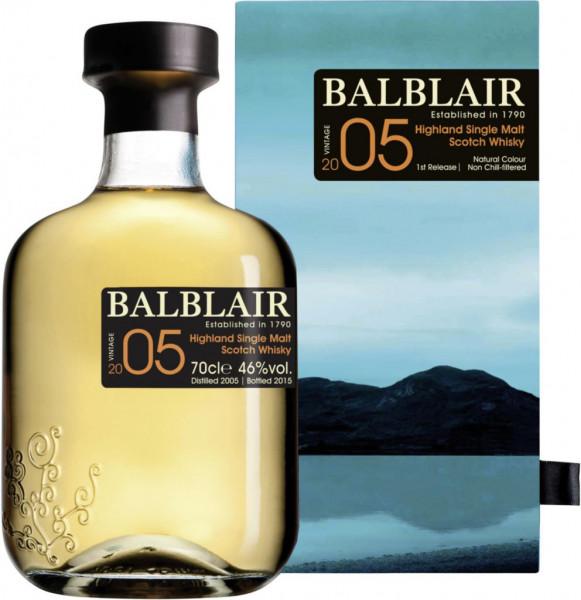 2005-er Single Malt Whisky 46%
