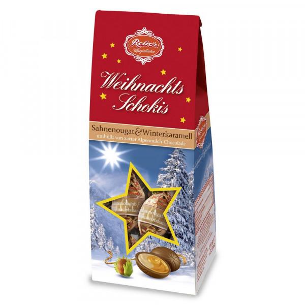 Weihnachtsschokis Karamell