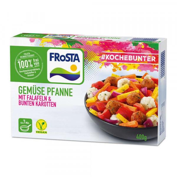 Gemüsepfanne Falafel/Karotte, tiefgekühlt