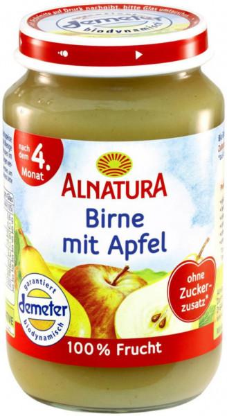 Babynahrung Früchte Birne/Apfel, nach 4. Monat