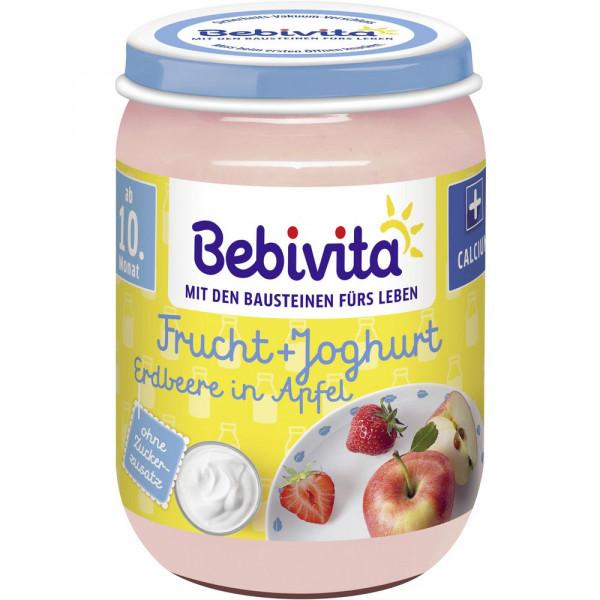 Baby Fruchtjoghurt, Erdbeer/Apfel