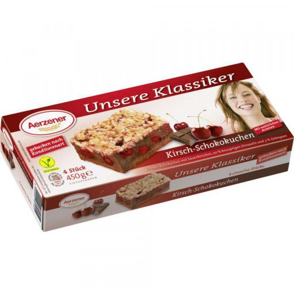 "Kuchenschnitten ""Kirsch-Schokokuchen"", tiefgekühlt"