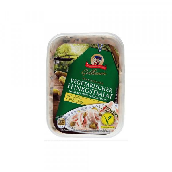vegetarischer Fleischsalat mit Gurke