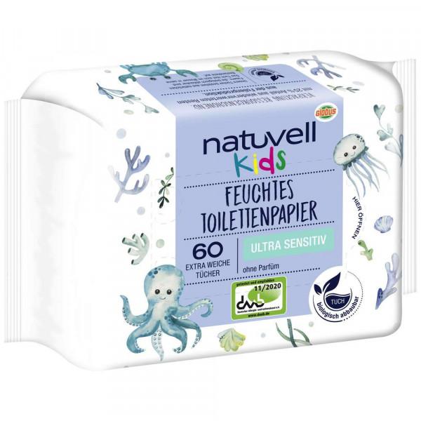 Feuchtes Toilettenpapier Kids, sensitiv