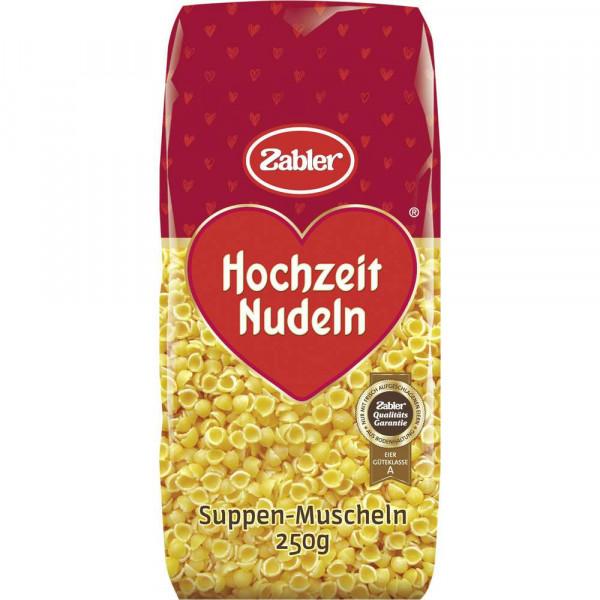 """Hochzeit Nudeln """"Suppen-Muscheln"""""""