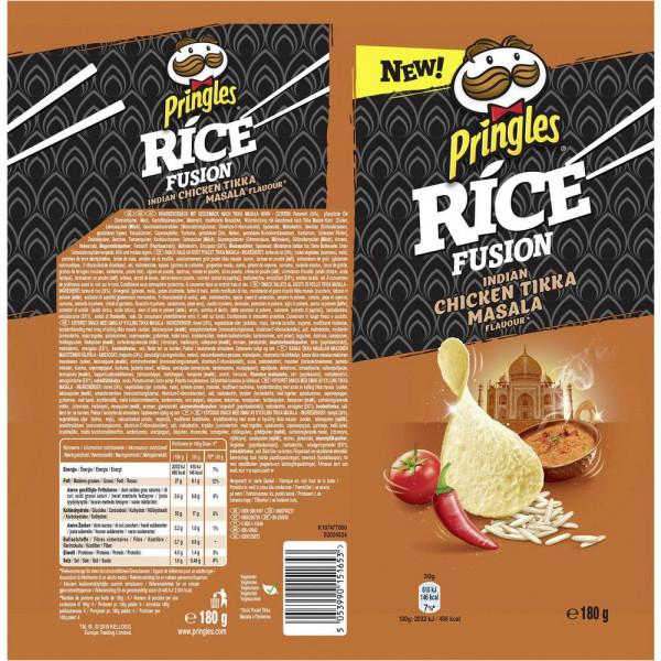 Rice Stapelchips, Chicken Masala