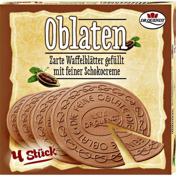 Dresdner Oblatten, Schoko