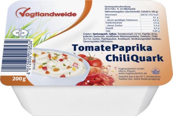 Sahnequark, Tomate/Paprika