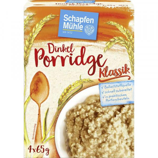Dinkel-Porridge, natur