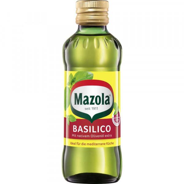 Reines Pflanzenöl mit natürlichen Basilikumauszügen