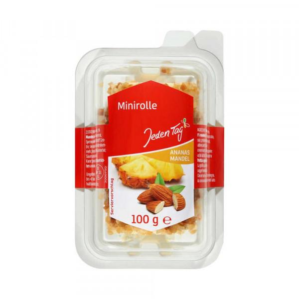 Frischkäse-Röllchen Ananas-Mandel
