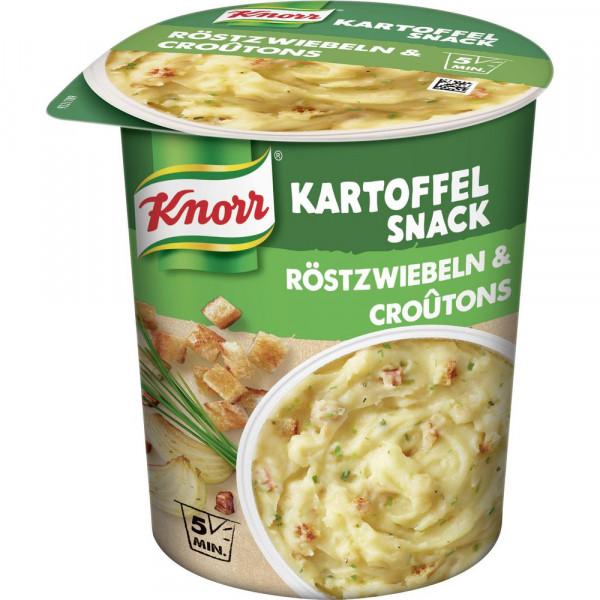Snack Bar, Kartoffelpüree mit Röstzwiebel & Croûtons