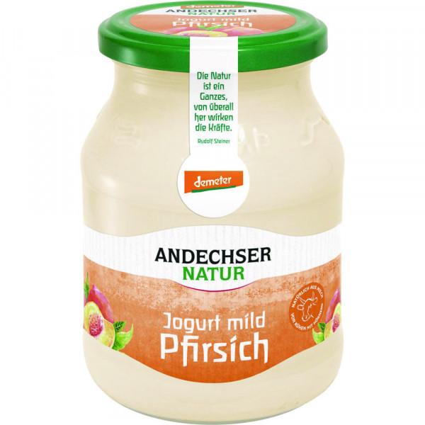 Bio Demeter Joghurt Pfirsich 3,7%, 500g MW