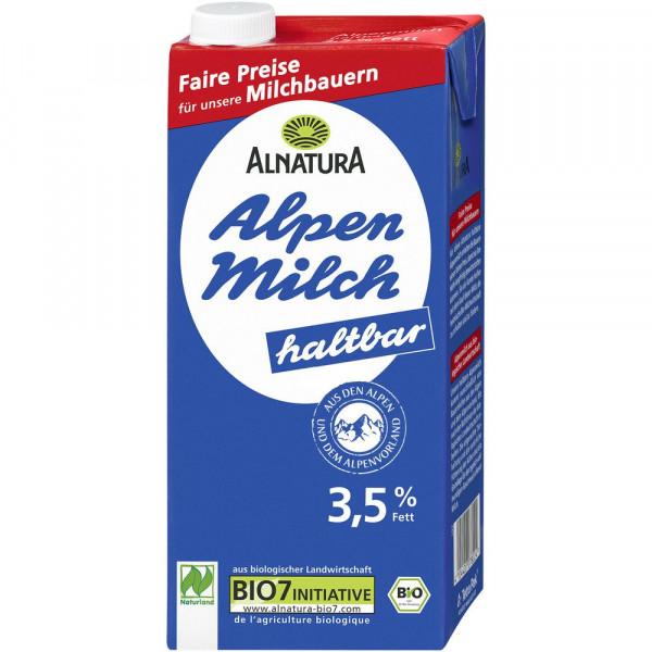Bio H-Alpenmilch 3,5% Fett