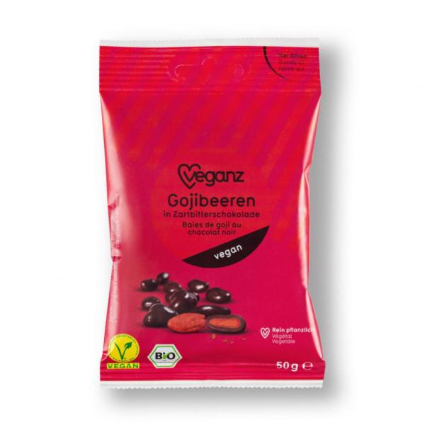 Bio Gojibeeren in Zartbitterschokolade
