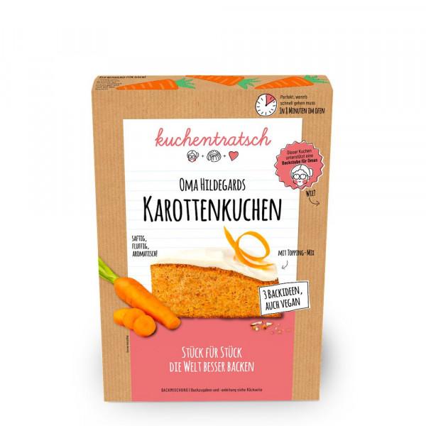 Oma Hildegards Karottenkuchen Backmischung