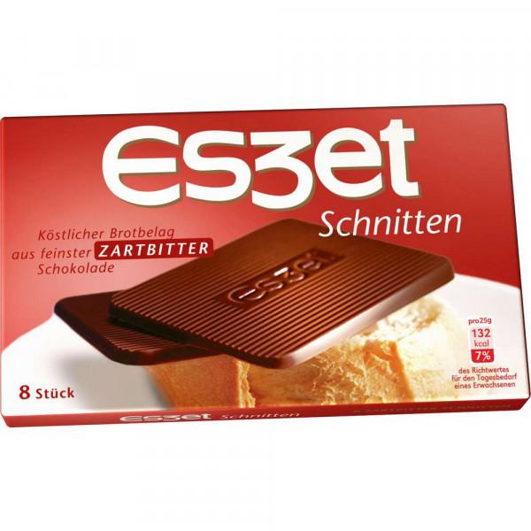 Schoko-Schnitten, Zartbitter